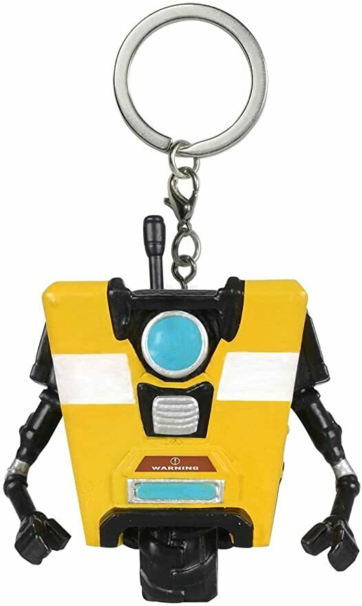 Funko Pop Keychain: Borderlands - Claptrap Figure