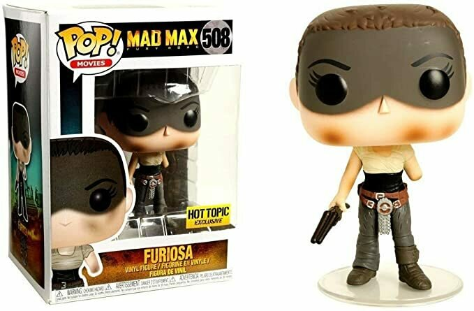 Funko Pop! Movies Mad Max Fury Road Furiosa #508 (Missing Arm)