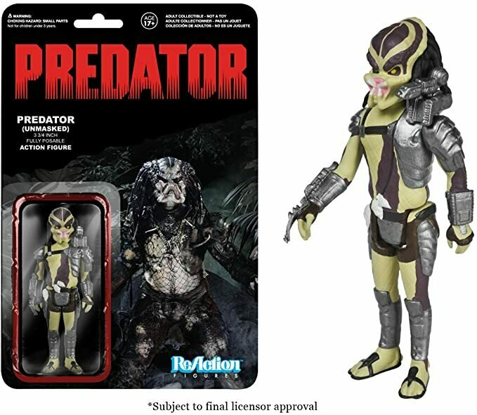Funko Predator Reaction Figure - Closed Mouth Predator
