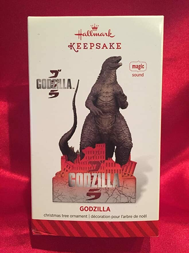 Hallmark QXI2553 Godzilla - 2014 Hallmark Keepsake Ornament