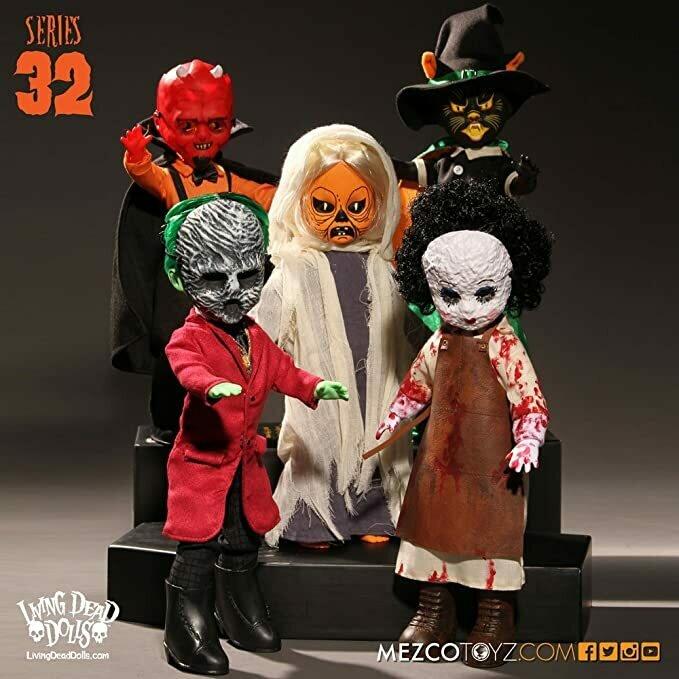 Living Dead Dolls Series 32 Set of 5