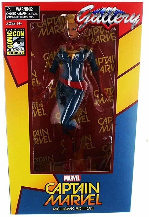 Marvel Gallery: Captain Marvel Mohawk Figure SDCC 2016 Exclusive Limited Edition of 1,500