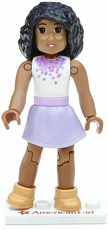 Mega Construx American Girl Series 1 Purple Passion Mini Figure