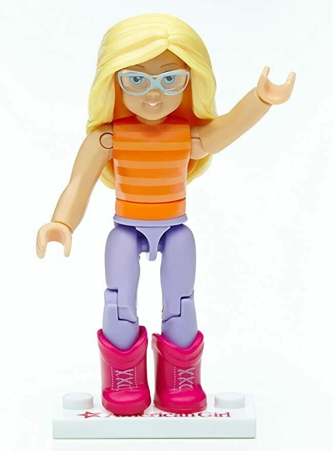Mega Construx American Girl Series 1 Sunny Stripes Mini Figure