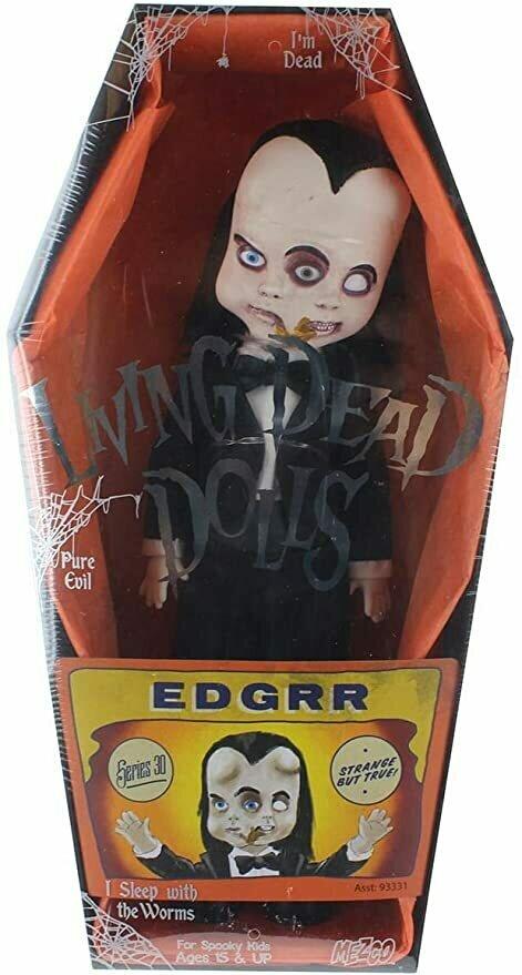 Mezco Living Dead Dolls Series 30 Freakshow Edgrr 10.5-Inch Doll
