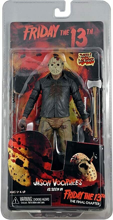 NECA Friday the 13th Series 2 Action Figure Jason Voorhees [Double Headed Axe]