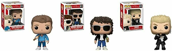 Pop Movies: The Lost Boys - Sam, David w/ Noodles, Michael Vinyl Figures Set