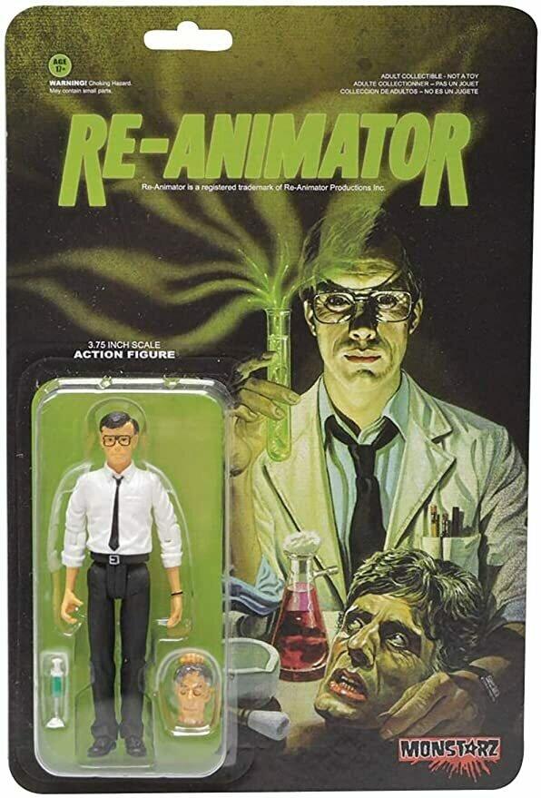 Re-Animator Monstarz 3.75 Scale Retro Action Figure