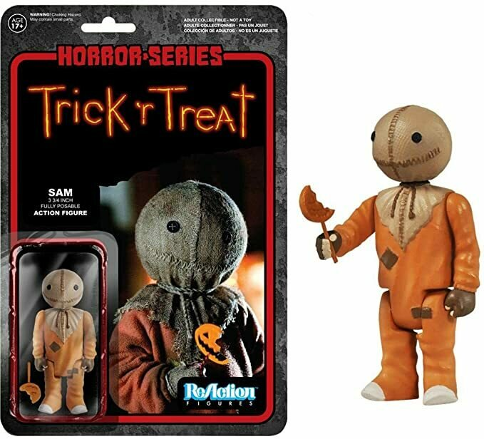 REACTION: HORROR-TRICK'R TREAT-SAM by FunKo