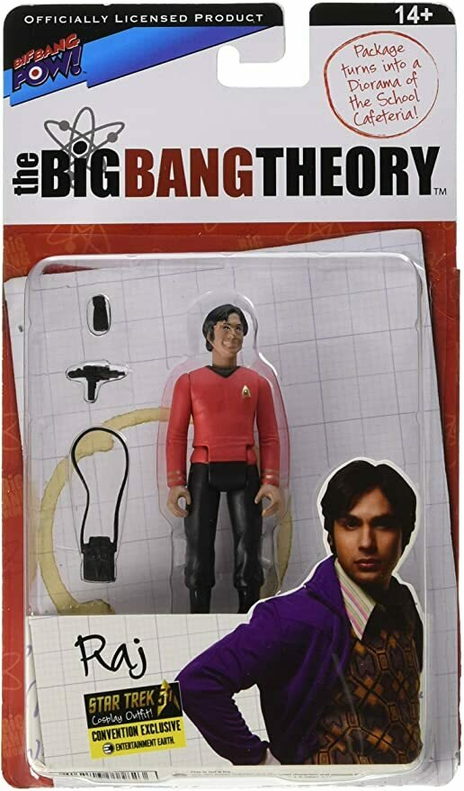 The Big Bang Theory Star Trek Raj 3 3/4-Inch Fig - Con Excl. Bif Bang Pow!