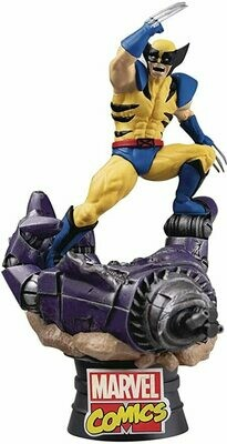 Beast Kingdom Marvel Comics Wolverine Ds-021 D-Stage Series Statue