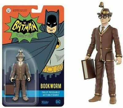 Funko Action Figure: DC Heroes - Bookworm Toy Figure