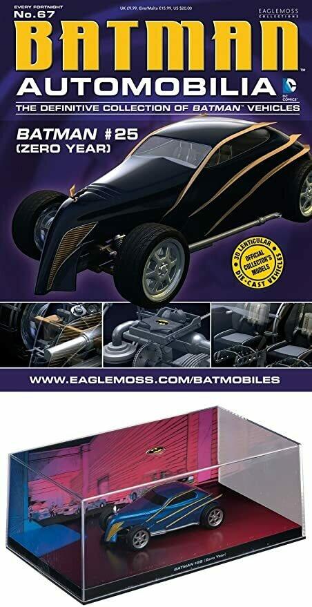 Batman Automobilia #67 Batman #25 (Zero Year)