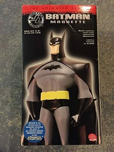 BATMAN FULL SIZE MAQUETTE Statue JUSTICE LEAGUE ANIMATED SERIES