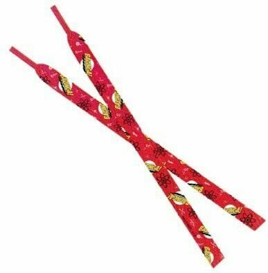 Big Bang Theory Bazinga Red Shoelaces-1 pair