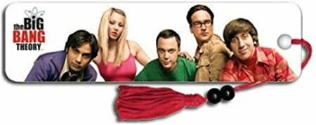 Big Bang Theory Group TV Collector's Beaded Bookmark 2 x 6in