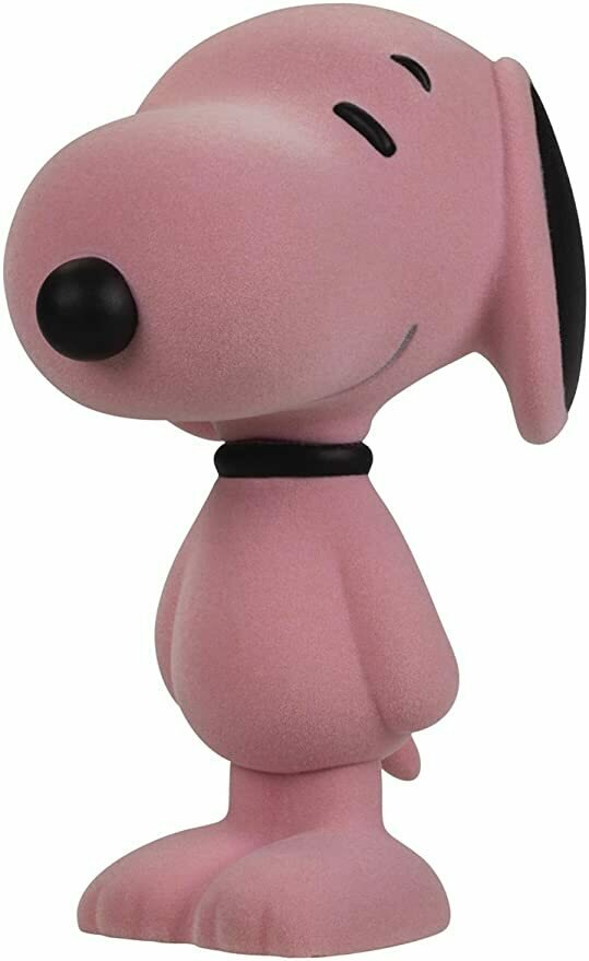 Dark Horse Deluxe Snoopy Strawberry Ice Flocked Vinyl Figure, 5.5""
