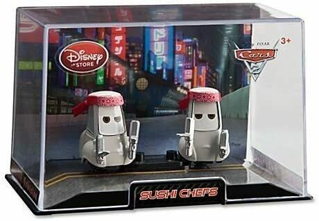 Disney Cars 2 Sushi Chefs Cars 2 Die Cast Car Set -- 2-Pc. 1/48