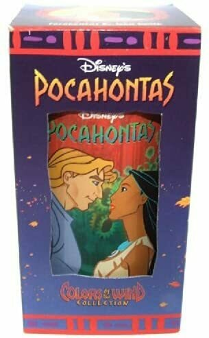 Disney Walt Pocahontas Colors of The Wind Collection Burger King Collector Cup