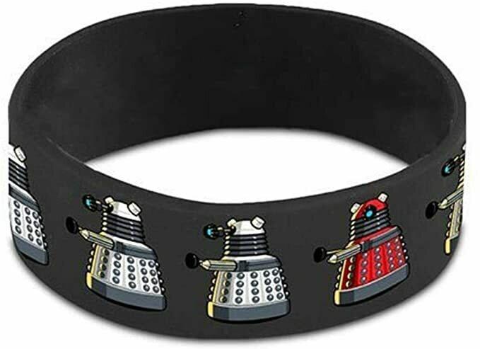 Doctor Who Dalek Rubber Wristband Bracelet BBC