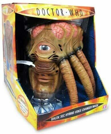 Doctor Who Dalek Sec Voice Changer Mask