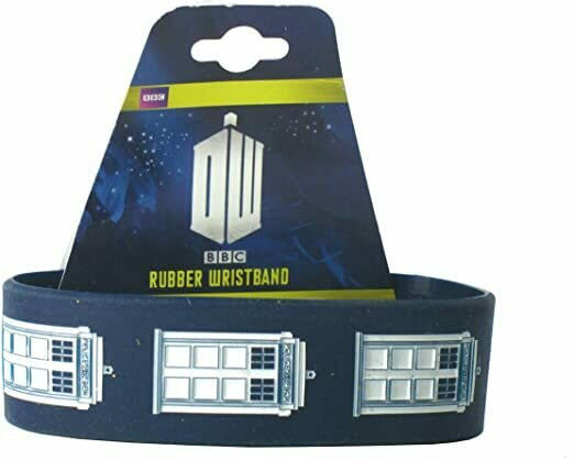 Doctor Who Tardis Rubber Wristband