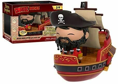 Funko Dorbz Ridez: Pirates of The Caribbean #29 - Wicked Wench Captain with Pirate Ship (Disney Treasures Exclusive)
