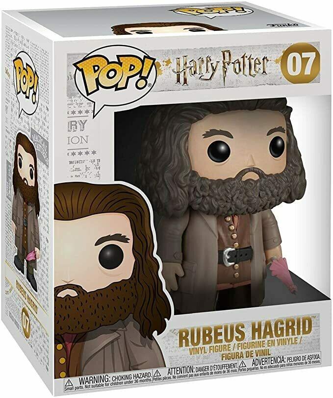 Funko Harry Potter Pop! Movies Vinyl Figure Ruebus Hagrid 15 cm Mini Figures