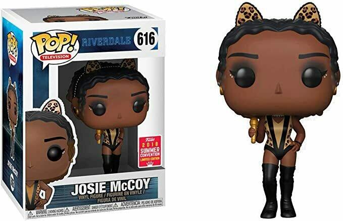 Funko Josie McCoy (2018 Summer Con Exclusive): Riverdale x Pop! TV Vinyl Figure & 1 Pop! Compatible PET Plastic Graphical Protector Bundle [#616 / 30323 - B]