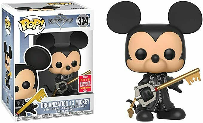 Funko Organization 13 Mickey (2018 Summer Con Exclusive) Pop! Vinyl Figure & 1 Pop! Compatible PET Plastic Graphical Protector Bundle [21763 - B]