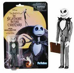 Funko Reaction: NBC - Jack Skellington Evil Action Figure