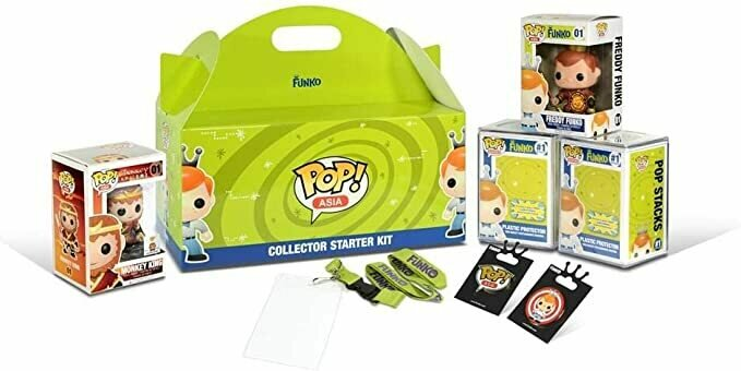 Funko SDCC 2015 Exclusive Mindstyle Pop Asia Collector Starter Kit - with Pops, Pins and More