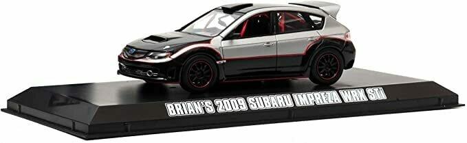 Greenlight 1:43 Fast & Furious Series Brian's 2009 Subaru Impreza WRX STi