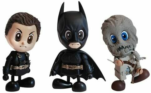 Hot Toys - Batman Begins Cosbaby S Mini Figure 3-Pack 8 cm