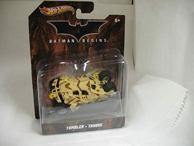 Hot Wheels 2011 Batman Begins Tan Desert Camo Tumbler X4038 1:50 Scale Mattel