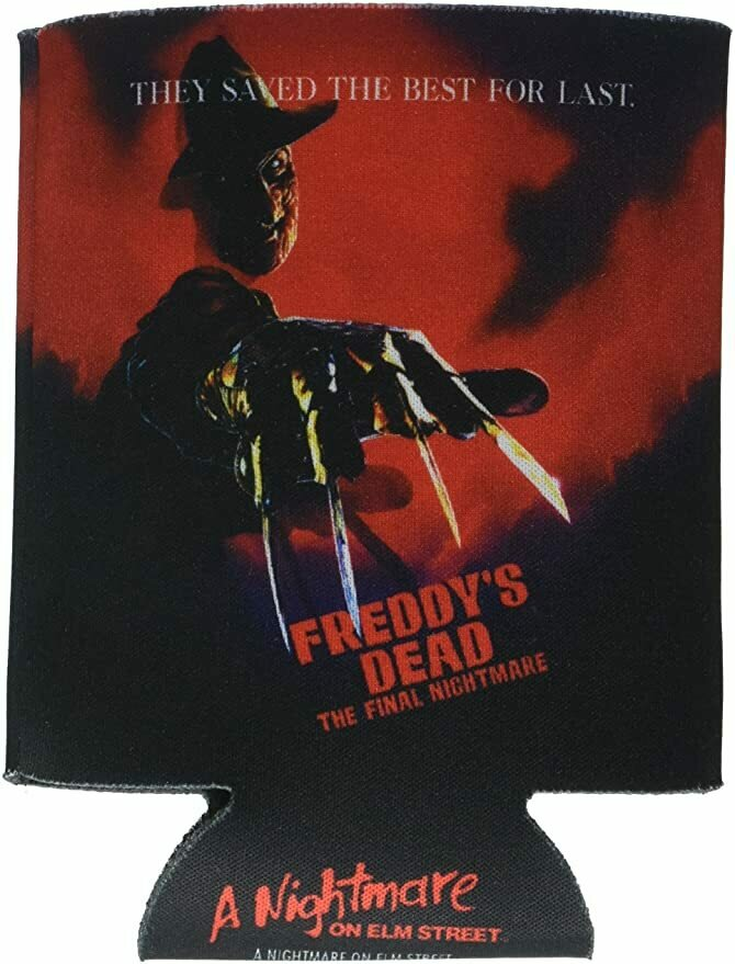 ICUP Nightmare on Elm St. Freddy's Dead Poster Huggie/Koozie, Clear