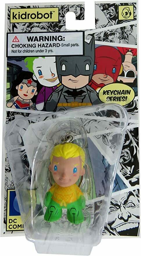 "Kidrobot x DC Comics 1.5"" Keychain (Aquaman)"
