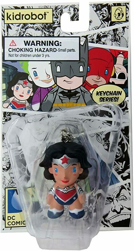 "Kidrobot x DC Comics 1.5"" Keychain (Wonder Woman)"