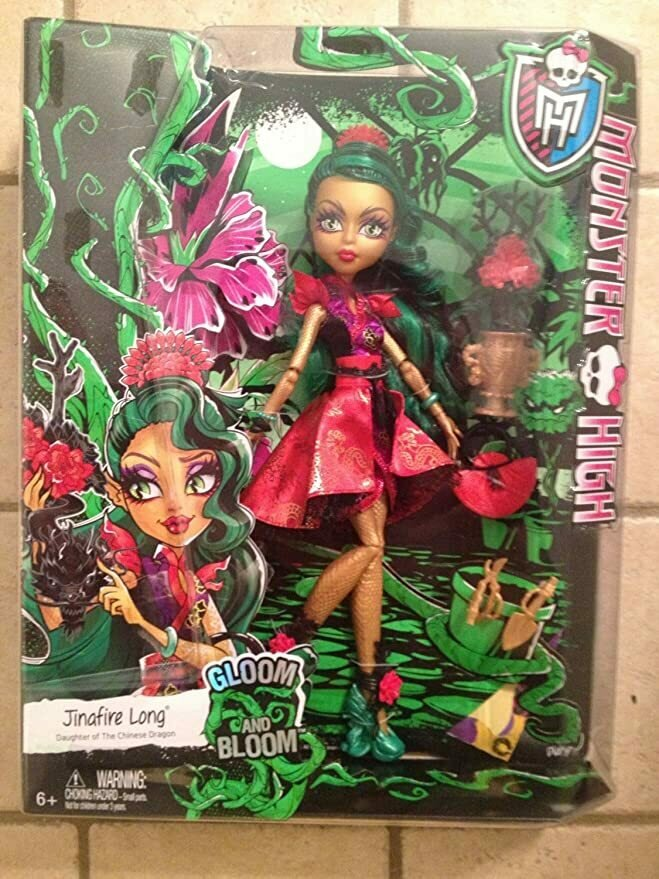 Monster High Gloom and Bloom Jinafire Long