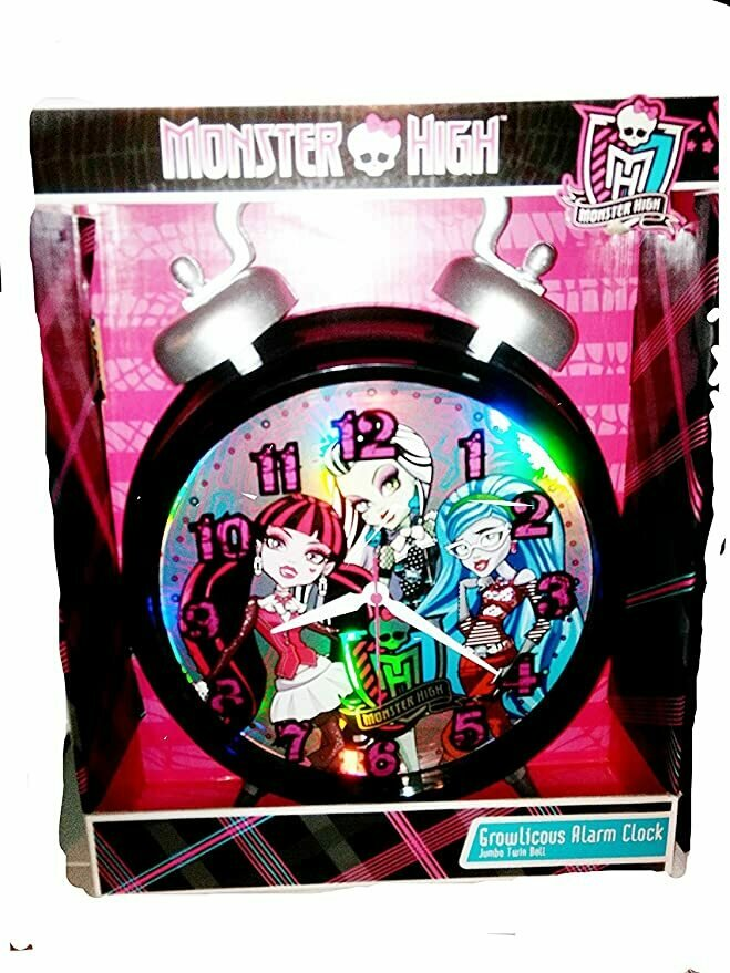 Monster High Growlicious Twin Bell Alarm Clock