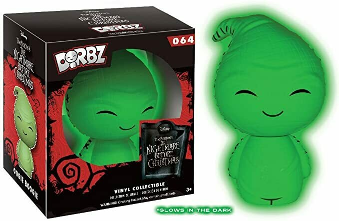 NBX Oogie Boogie Glow-in-the-Dark Dorbz Vinyl Figure - EE Ex