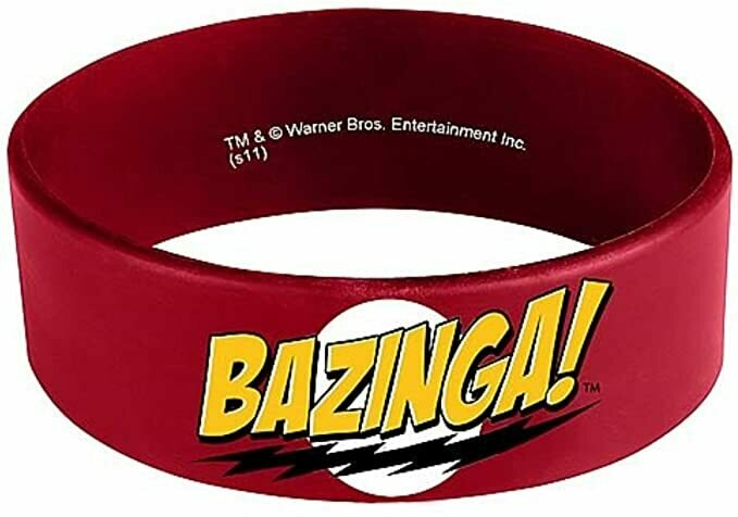 Ripple Junction Big Bang Theory Bazinga Rubber Bracelet