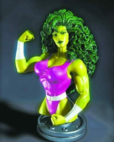 She-Hulk Mini Bust by Bowen Designs!