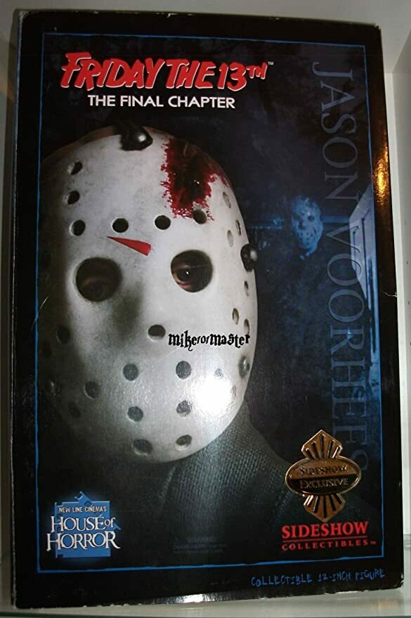 Sideshow Friday The 13th The Final Chapter Jason Voorhees 12 inch Action Figure