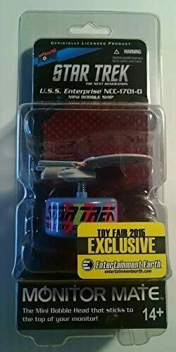 Star Trek The Next Generation U.S.S. Enterprise NCC-1701-D Mini Bobble Ship