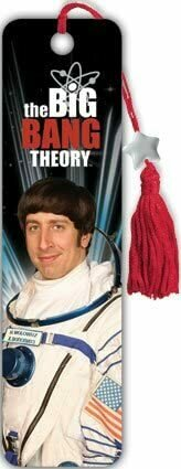 """The Big Bang Theory - Astronaut Wolowitz by Collector's Beaded Bookmark 1.5625""""x5.875"""" Art Print Poster"""