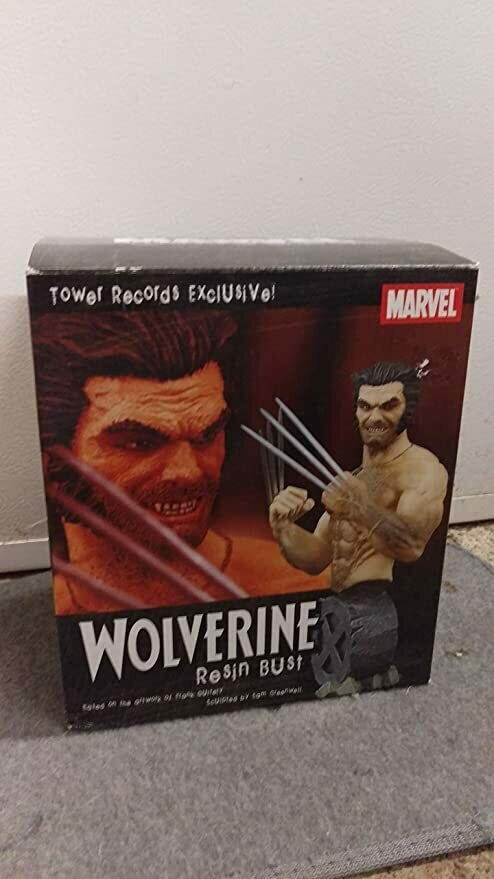 Wolverine Bust Tower Records Exlcusive X-Men