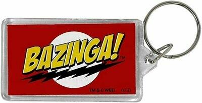Big Bang Theory - Bazinga Lucite Keychain