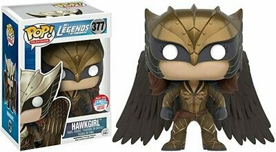 Funko Pop! DC's Legends of Tomorrow Hawkgirl NYCC 2016 Limited Edition #377