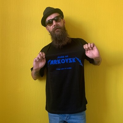 джинсы тарковского - футболка «вы не панки» (унисекс, чёрная)
